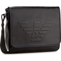 Torba na laptopa EMPORIO ARMANI - Y4M178 YG90J 81072 Black. Szare plecaki męskie marki Emporio Armani, l, z nadrukiem, z bawełny, z okrągłym kołnierzem. W wyprzedaży za 799,00 zł.