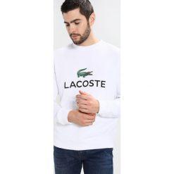 Lacoste Bluza weiss. Szare kardigany męskie marki Lacoste, z bawełny. W wyprzedaży za 351,75 zł.
