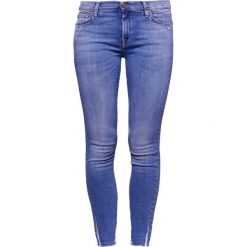 Rurki damskie: 7 for all mankind Jeans Skinny Fit blue denim