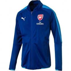 """Kurtka sportowa """"FC Arsenal"""" w kolorze niebieskim. Czerwone kurtki sportowe męskie marki Puma, xl, z materiału. W wyprzedaży za 159,95 zł."""