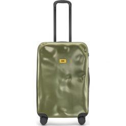 Walizka Icon średnia matowa oliwkowa. Szare walizki marki Crash Baggage, z materiału. Za 1040,00 zł.