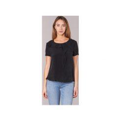 Bluzki Armani jeans  GITAMIO. Czarne bluzki damskie marki Armani Jeans, z jeansu. Za 524,30 zł.