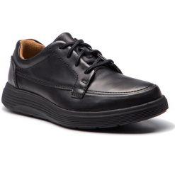 Półbuty CLARKS - Un Abode Ease 261369847 Black Leather. Czarne półbuty skórzane męskie marki Clarks. W wyprzedaży za 319,00 zł.