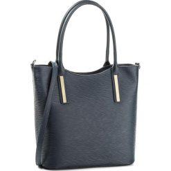 Torebka CREOLE - K10294  Granatowy. Niebieskie torebki klasyczne damskie Creole, ze skóry, duże. W wyprzedaży za 259,00 zł.