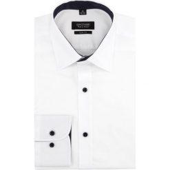 Koszule męskie: koszula bexley 2768e długi rękaw slim fit biały