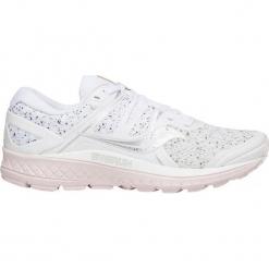 """Buty sportowe """"Omni Iso"""" w kolorze białym. Białe buty sportowe damskie Saucony, z materiału. W wyprzedaży za 318,95 zł."""