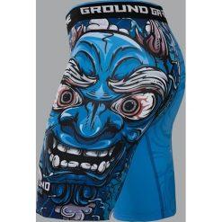 """Ground Game Sportswear Spodenki Vale Tudo """"Oni"""" S. Białe spodenki sportowe męskie marki Adidas, l, z jersey, do piłki nożnej. Za 139,00 zł."""