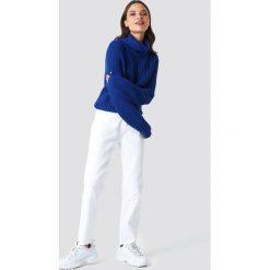 Rut&Circle Dzianinowy golf Tinelle - Blue. Zielone golfy damskie marki Rut&Circle, z dzianiny, z okrągłym kołnierzem. Za 80,95 zł.