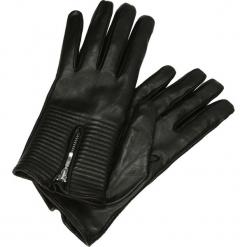 Rękawiczki - SKY4 L NE J18. Czarne rękawiczki damskie Venezia, ze skóry. Za 269,00 zł.