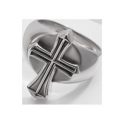 Sygnety męskie: Rebel Heritage CROSS PURPOSE Pierścionek silvercoloured