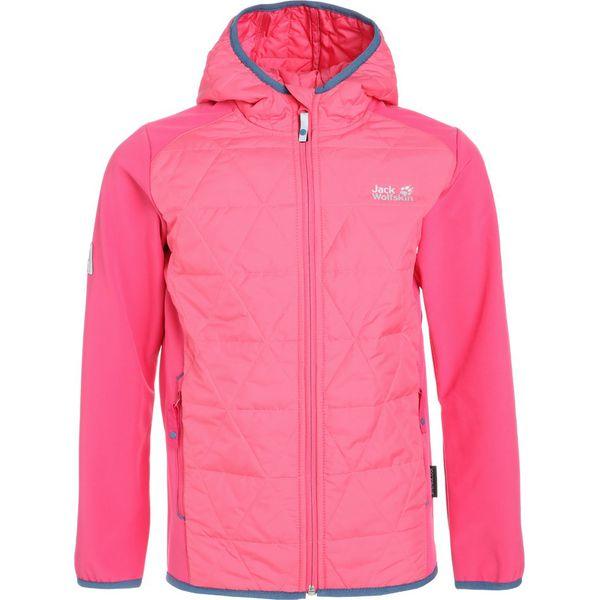 52ab78bf99 Jack Wolfskin GRASSLAND HYBRID Kurtka Softshell hot pink - Czerwone kurtki  damskie softshell marki Jack Wolfskin. W wyprzedaży za 341