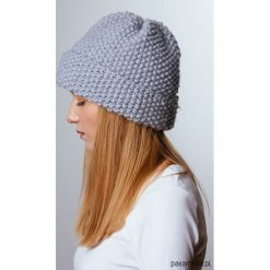 Czapka wywijana. Niebieskie czapki zimowe damskie marki WED'ZE, z materiału. Za 160,00 zł.