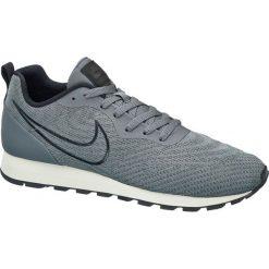 Buty męskie Nike MD RUNNER 2 ENG MESH NIKE popielate. Niebieskie halówki męskie marki Nike, z gumy, nike md runner. Za 299,90 zł.