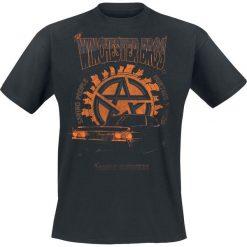 T-shirty męskie: Supernatural Winchester Bros T-Shirt czarny