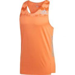 Koszulka do biegania męska ADIDAS ADIZERO SINGLET / CE0353. Pomarańczowe koszulki do biegania męskie marki Adidas, m. Za 209,00 zł.