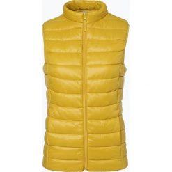 Brookshire - Kamizelka damska, żółty. Czarne kamizelki damskie marki brookshire, m, w paski, z dżerseju. Za 99,95 zł.
