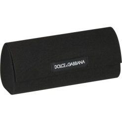 Dolce&Gabbana Okulary przeciwsłoneczne black. Czarne okulary przeciwsłoneczne damskie aviatory Dolce&Gabbana. Za 839,00 zł.