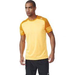 Adidas Koszulka męska Response SS Tee  żółty r. L (AI8207). Białe koszulki sportowe męskie marki Adidas, m. Za 59,00 zł.