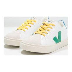 Veja ESPLAR SMALL LACE Tenisówki i Trampki extra white/emeraude/gold yellow. Białe tenisówki męskie marki Veja, z kauczuku. Za 329,00 zł.