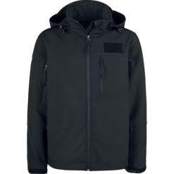 Brandit Corwen Softshelljacke Kurtka czarny. Czarne kurtki softshell męskie marki Brandit, m, z polaru. Za 244,90 zł.