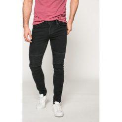 Only & Sons - Jeansy Spun Biker. Szare jeansy męskie slim Only & Sons, z bawełny. W wyprzedaży za 99,90 zł.