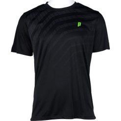 Koszulki sportowe męskie: PRINCE Koszulka Męska Graphic Crew Czarna r. XL (3M099095)