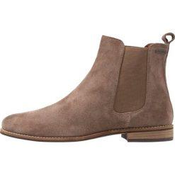 Superdry MILLIELOU CHELSEA  Ankle boot brown. Brązowe botki damskie skórzane Superdry. Za 419,00 zł.