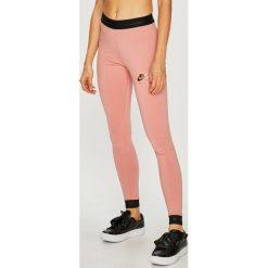 Nike Sportswear - Legginsy. Różowe legginsy Nike Sportswear, l, z bawełny. W wyprzedaży za 129,90 zł.
