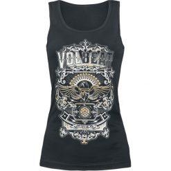 Volbeat Old Letters Top damski czarny. Czerwone topy damskie marki WED'ZE, xl, z elastanu, z kapturem. Za 74,90 zł.