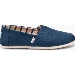 Toms - Espadryle Classic. Niebieskie espadryle męskie marki Marc O'Polo, ze skóry, na płaskiej podeszwie. W wyprzedaży za 169,90 zł.