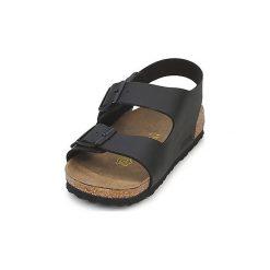 Sandały Birkenstock  MILANO. Czarne sandały męskie marki Birkenstock. Za 251,30 zł.