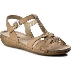 Rzymianki damskie: Sandały INBLU – VC277R72 Beżowy