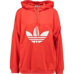 Bluzy rozpinane damskie: adidas Originals Bluza z kapturem bold orange