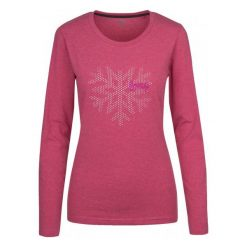 Loap  Koszulka Damska Boska Pink S. Różowe bluzki sportowe damskie Loap, l, z długim rękawem. W wyprzedaży za 55,00 zł.