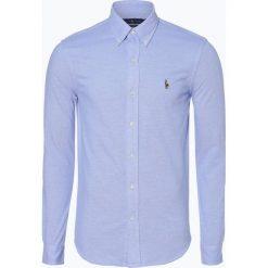 Polo Ralph Lauren - Koszula męska, niebieski. Niebieskie koszule męskie marki Polo Ralph Lauren, m, polo, z długim rękawem. Za 399,95 zł.