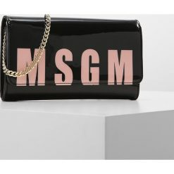 Puzderka: MSGM LOGO Kopertówka black/pink