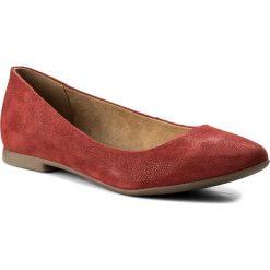 Baleriny LASOCKI - WI23-ROSA-01A Czerwony. Czerwone baleriny damskie zamszowe Lasocki. W wyprzedaży za 99,99 zł.