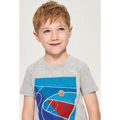 T-shirt z nadrukiem - Jasny szar. Białe t-shirty chłopięce z nadrukiem marki Reserved, l, z dzianiny. Za 29,99 zł.