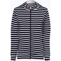 Franco Callegari - Damska bluza rozpinana, niebieski. Zielone bluzy rozpinane damskie marki Franco Callegari, z napisami. Za 139,95 zł.