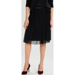 Spódniczki plisowane damskie: Cartoon Spódnica plisowana black