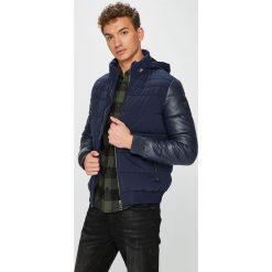 Guess Jeans - Kurtka. Szare kurtki męskie jeansowe marki Guess Jeans, l, z aplikacjami. Za 899,90 zł.