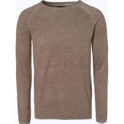 Swetry klasyczne męskie: Review - Sweter męski, brązowy
