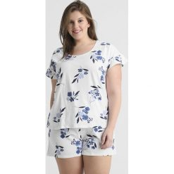 Piżamy damskie: Evans FLORAL SHORT SET Piżama blue