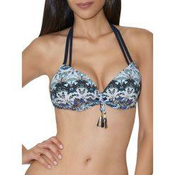 """Stroje dwuczęściowe damskie: Biustonosz bikini """"Exotic Waves"""" w kolorze granatowym"""