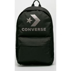 Converse - Plecak. Czarne plecaki damskie marki Converse. W wyprzedaży za 119,90 zł.