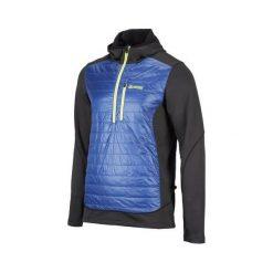 Kurtki trekkingowe męskie: BERG OUTDOOR Kurtka COURMAYEUR SWEAT czarno-niebieska r. XXL (P-10-HK4110500SS14-211-XXL)