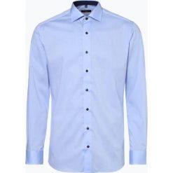 Eterna Slim Fit - Koszula męska niewymagająca prasowania, niebieski. Niebieskie koszule męskie non-iron Eterna Slim Fit, m, z materiału, z klasycznym kołnierzykiem. Za 229,95 zł.