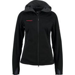 Mammut ULTIMATE  Kurtka Softshell black. Czarne kurtki sportowe damskie Mammut, xs, z materiału. W wyprzedaży za 707,85 zł.