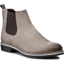 Sztyblety NESSI - 728/0 Beż 917. Czarne buty zimowe damskie marki Nessi, z materiału, na obcasie. W wyprzedaży za 179,00 zł.