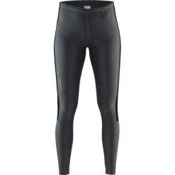 Bryczesy damskie: Craft Spodnie sportowe damskie Radiate Tights grafitowe r. M (1905389-975999)
